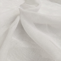 100 Natural Cotton Craft Fabric Muslin White Sheeting 94 240cm Width By The Meter 038 482