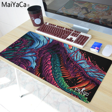MaiYaCa The most fire Hyper beast CS GO Mouse Pad pad Overlock Edge Big Gaming mouse Send BoyFriend the Best Gift 40x90cm