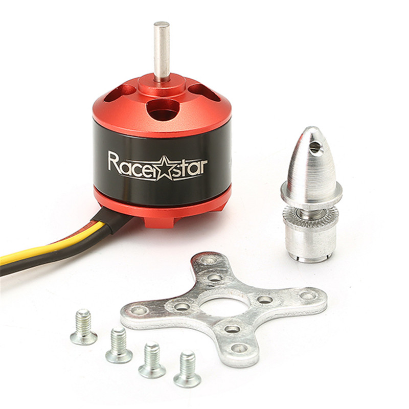 Racerstar <font><b>BR2212</b></font> 1000KV 2-4S Brushless Motor For RC Airplane For RC Model Accessories image