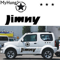 Stickers For SUZUKI Jimny Car Styling Jimny sticker Auto Accessories Reflective Waterproof Vinyl Car Decals Car Accessories 1PC