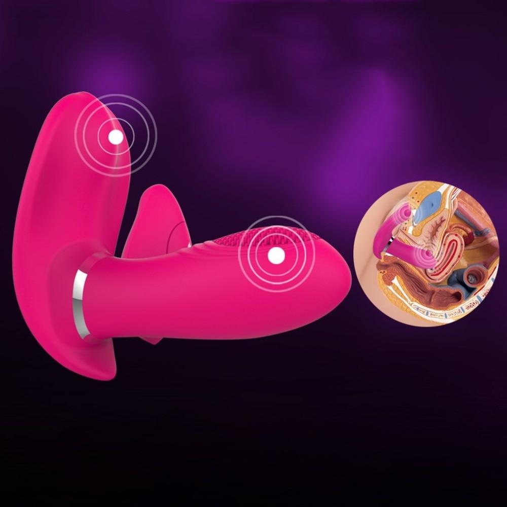 Buy Multi-speed dildo G-spot Vibrators Women remote control wearable Vibrator Massager Adult Sex Toys Female Masturbator