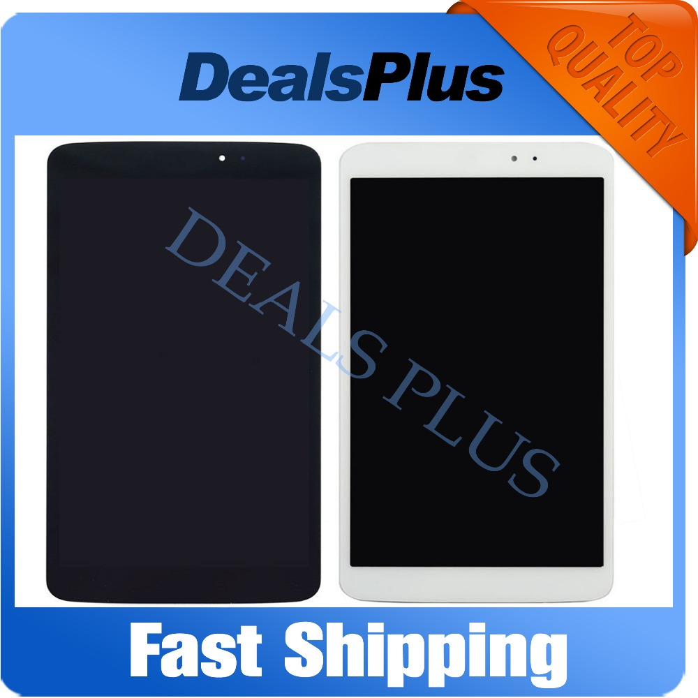 цены  Replacement New LCD Display Touch Screen Digitizer Glass Assembly For LG G Pad 8.3 V500 Black White Free Shipping