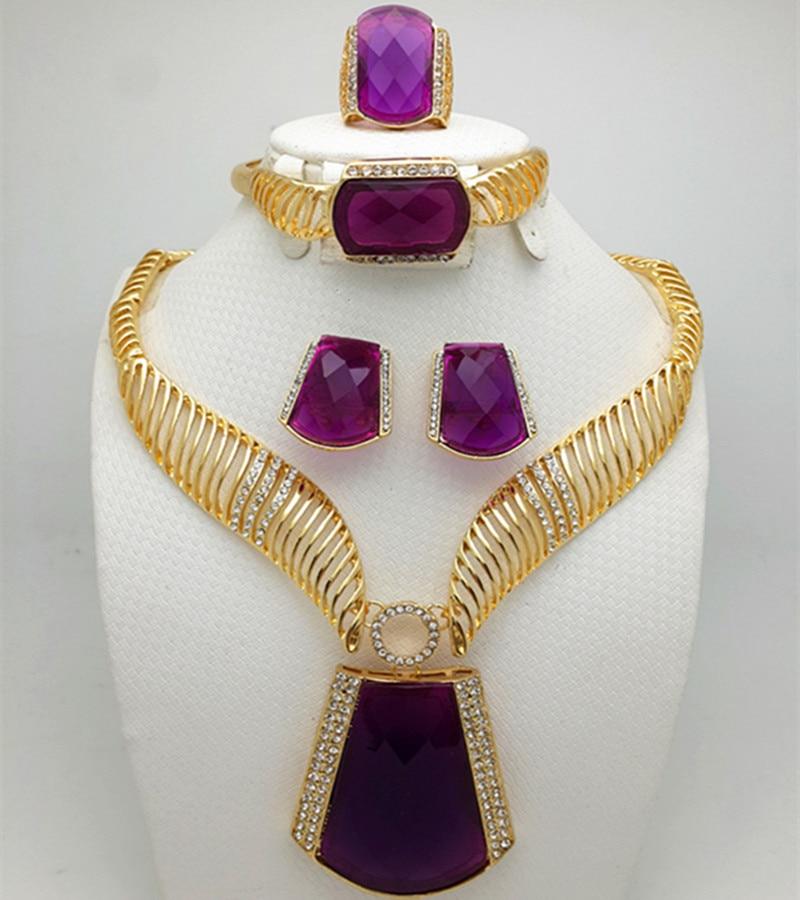 Africa jewelry set Western style New fashion dubai bride ...