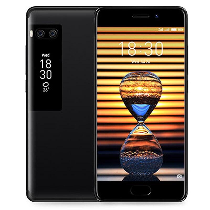 24243.0руб. |Официальный Meizu Pro 7 4G B 128 ГБ 4G LTE Мобильного Телефона Octa Core 5,2