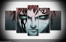 Naruto Shippuden japan anime print poster canvas decoration 5 pieces  20x35cmx2,20x45cmx2,20x55cm