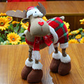 2016 New High Quality Reindeer Elk Christmas Doll Decoration for Home Xmas Tree Hanging Ornaments Chirstmas Gift