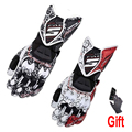 Motorcycle Gloves GP PRO Real Genuine Leather Long Glove Men Waterproof Cycling Racing MotorbikeGuantes Luvas FIVE RFX1 Outdoor
