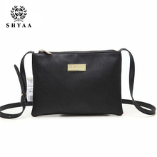 Shyaa почтальона сумочки модные искусственная плеча леди кожа сумки сумка мини