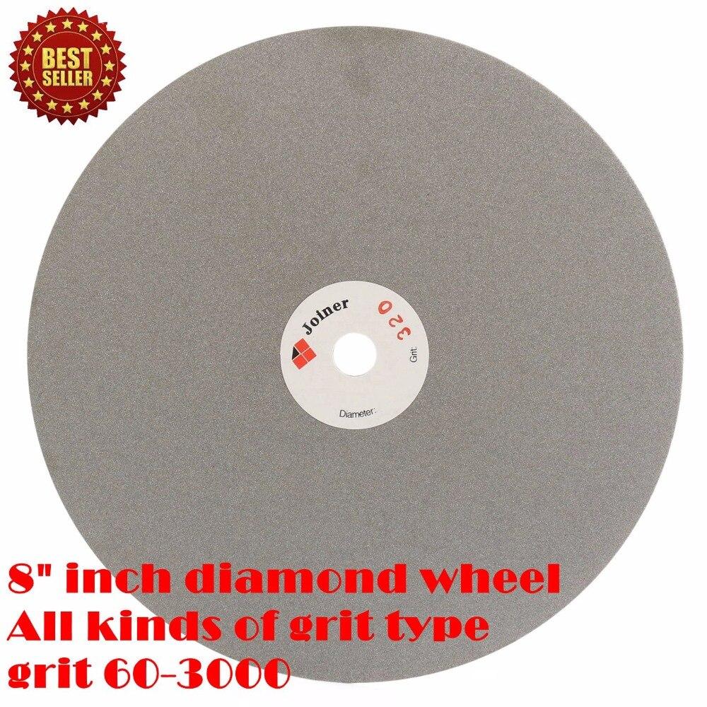 8 colių 200 mm švitrinis 60-3000 nerūdijančio plieno deimantų - Abrazyviniai įrankiai - Nuotrauka 5
