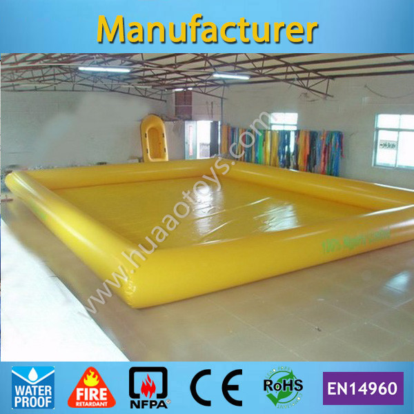 Free Shipping 9*7m Inflatable Swimming Pool for Adult and Kids(Free air pump+repair kit) any color you like