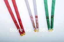 102pcs/lot indian ear candles without burning smoke,ear waxing candle,best quality,mixed flavor,+protective disc,CE approval