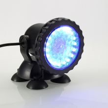 36 LEDs RGB Underwater Spotlight Aquarium LED Light Waterproof Submersible Light For Water Garden Fish Tank Fountain Lighting US