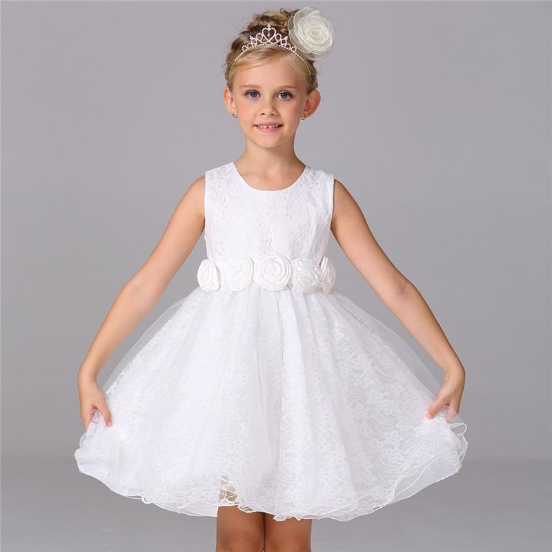 New 2016 Baby Girl Dress Vintage Baby Christening Dresses