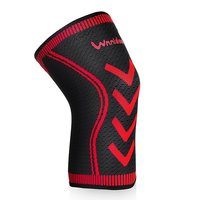 Athletic Knee Sleeves Protection Non Slip Knee Wraps Compression Knee Pads Brace Joint Support for Basketball Running Arthritis