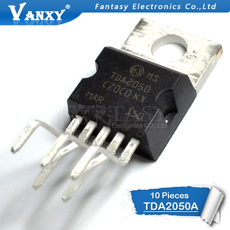 10PCS TDA2050A TO220-5 TDA2050 TO220 TO-220 New And Original IC