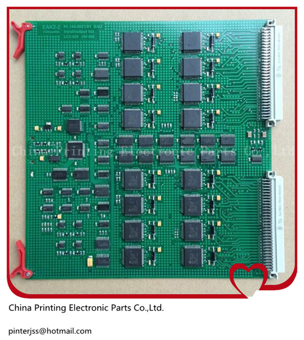 EAK2-2 91.144.6021/01 BAU circuit board for Heidelberg SM-74 00.781.2891 HDM-00.781.4795