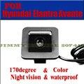 Цвет автомобиля камера для 2012 Hyundai Elantra Avante Автомобильная Камера Заднего вида Обратный Резервный датчики парковки водонепроницаемый