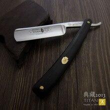 Titan Бесплатная доставка Парикмахерская бритвенная деревянная бритва