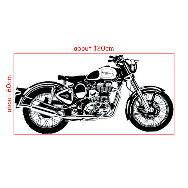 Top cool 3d Motorcycle wall decals vinyl stickers vintage home decoration living room garage creative wallpaper art posters  sc 1 st  Aliexpress & Online Shop Top cool 3d Motorcycle wall decals vinyl stickers ...