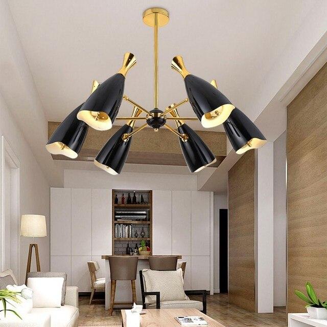 Replica Designer Lampe DUKE Kronleuchter Moderne Kreative Villa Verbindung Boden Wohnzimmer Led