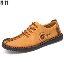 N11 Marke 2017 Mode Komfortable Männer Schuhe Lace-up Solide Echte Lederne Schuhe Männer Kausalen Huarache Heißer Verkauf Zapatillas Hombre