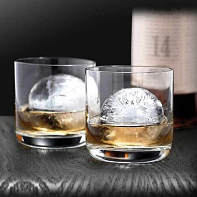 Sphere Ice Molds Perfect Ice Ball Maker for Slow-melting Cocktails Whisky Drink Beverage Round Ice Mould
