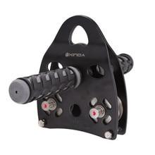 Многоцелевая ручка с роликом шестерни Открытый скалолазание Тирольский траверс пересечение вес каретки Fit