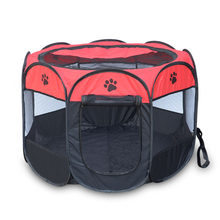 Portable Folding dog cage, Pet Tent Playpen Dog Cat,Dog House Outdoor(China)