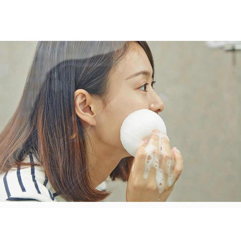 6 Colors Natural Konjac Konnyaku Facial Puff Face Cleanse Washing Sponge Exfoliator Cleansing Sponge Puff Facial Cleanser