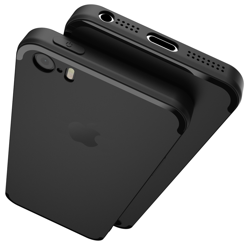 Original teléfono case para iphone 5s 5 se topk ultra thin tpu casos para apple