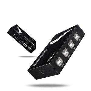 Image 3 - MT VIKI 4 Port USB Synchron Controller Switcher tastatur maus synchronizer für Mehrere PCs Spiel Control mit kabel