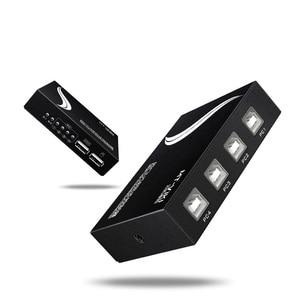 Image 3 - MT VIKI controlador sincrónico USB de 4 puertos, teclado conmutador, ratón sincronizador para múltiples uds, Control de juego con cable