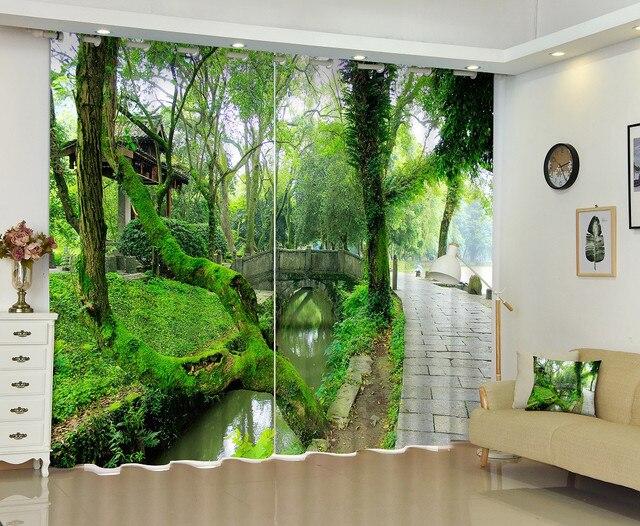 Moderne luxus büro  Moderne Luxus 3D Vorhänge Vorhänge Benutzerdefinierte wohnzimmer ...