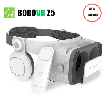 2018 NEW VERSION BOBOVR Z5 Youth Virtual Reality 3D VR glasses Cardboard FOV 120 Degrees VR 3D Headset for Android and iOS Bobovr