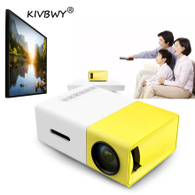 YG300 Mini Portable Projector LCD LED Proyector HDMI USB AV SD 400-600 Lumen Home Theater Children Education Beamer HD Projetor цена