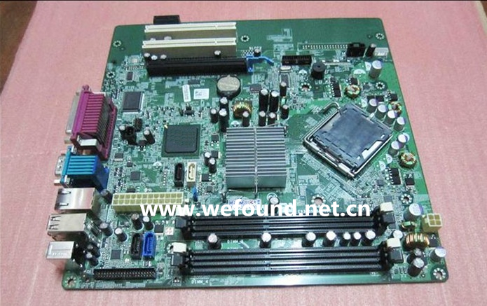 100% Working Desktop Motherboard for 780 MT V4W66 C27VV System Board Fully Tested