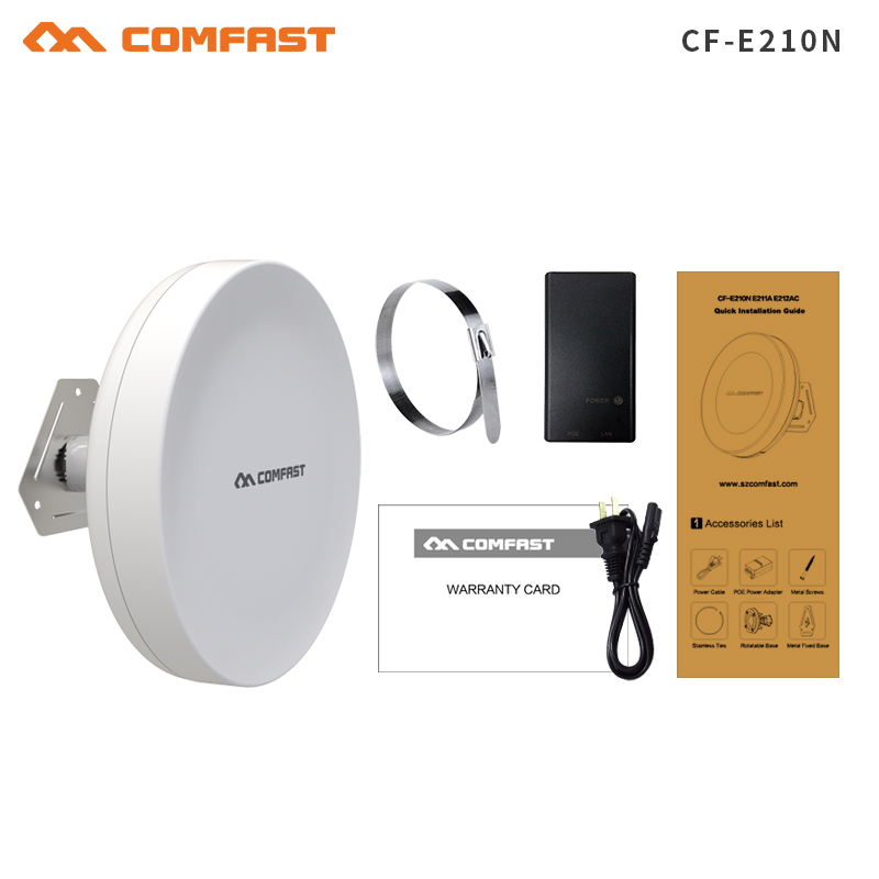 300Mbps 2km point to point transmission,monitor project partner,outdoor wifi router wifi extender booster repeater, CPE bridge