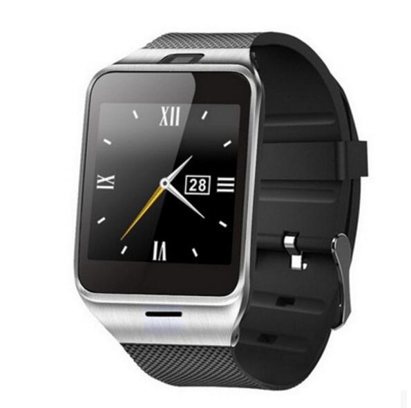 2016 Real Top Fashion No Pulso Aplus Gv18 Inteligente À Prova D' Água relógio Do Telefone Gsm Nfc Smartwatch relógio de Pulso da Câmera Cartão Sim Para samsung