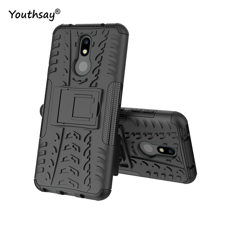 For Nokia 3.2 Case Heavy Duty Hard Rubber Silicone Coque Fundas Phone Cover for case