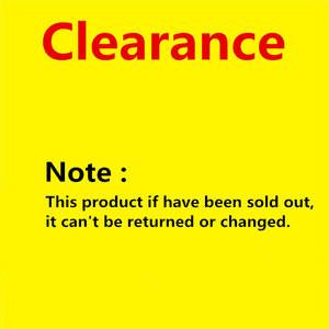 Clearance products Low price and good quality