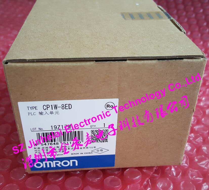 New and original CP1W-8ED OMRON PLC INPUT UNIT new and original e3x da11 s omron optical fiber amplifier photoelectric switch 12 24vdc
