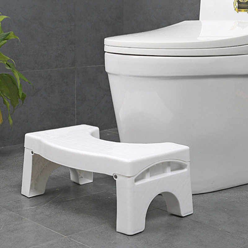Footseat Toilet Stool Foot Stool Accessories Promotion Health Care Squatty Step Stool Bathroom Potty Squat Toilet Assistant
