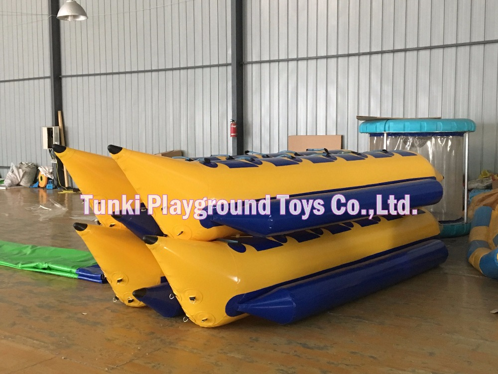 12 seats Inflatable Water Rowing Banana Boat