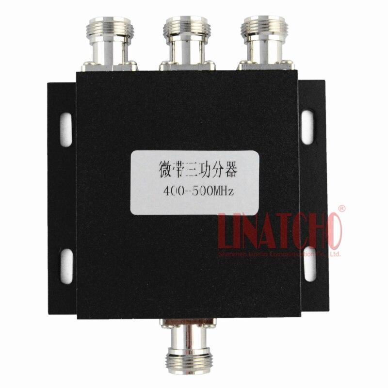 🛒 3 Way 450MHz RF UHF Power Splitter 400 500MHz UHF two way