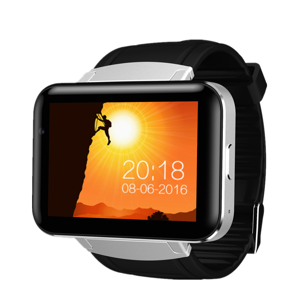DM98 WCDMA GPS Bluetooth Smart Watch 2.2 inch 3G Smartwatch Phone MTK6572 900mAh Battery 1.2GHz 4GB ROM Camera Android 4.4 OS supra sfd 1011 dcu