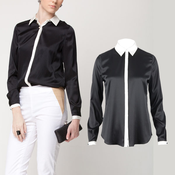 Fashion High Quality Women 39 S Ol Outfit Long Sleeve Satin
