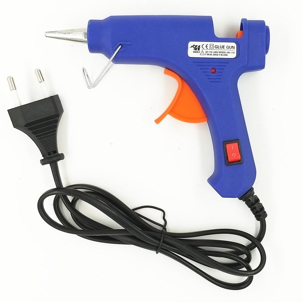 100–240 V kuumsulamliimipüstol 20W EU Plus koos 7 mm pulgadega - Elektrilised tööriistad - Foto 2