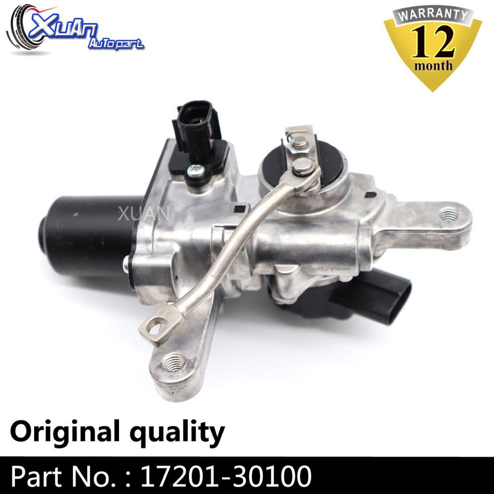 Электронное зарядное устройство XUAN привод разгрузочного клапана турбонаддува CT16V 17201-30100 Turbo для Toyota Landcruiser Hilux SW4 1KD-FTV D4-D 3,0