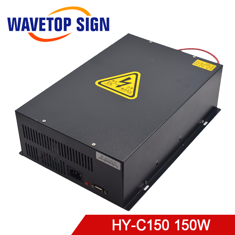 CO2 laser power supply HY-C150 150W laser power box HY-C150 150W use for Yueming laser cutting and engraving machine deco hy 3779а