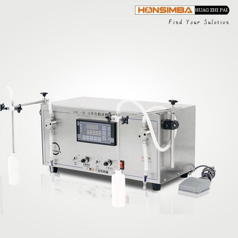 DHIB 2-1400ml big capacity all kinds of liquid filling machine